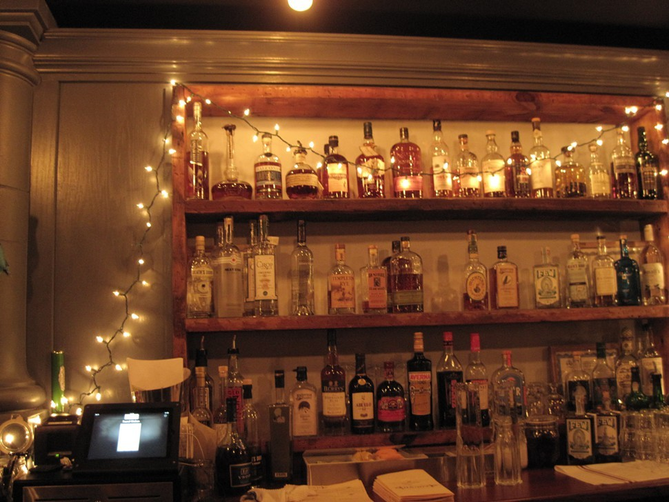 The bar at Found Kitchen