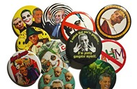 The Button Man brilliantly turns Mayor Rahm into art