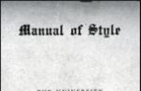 The Chicago Manual of Style, 1906 Style