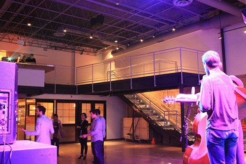 1st Ward's performance space.