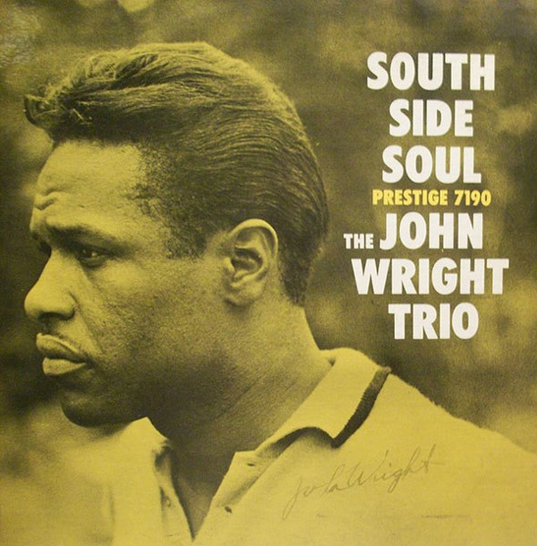 The cover of John Wright's 1960 debut LP, whose title gave him his nickname
