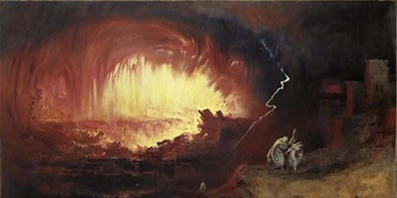 The Destruction of Sodom and Gomorrah, as not depicted by the Mitchell Brothers