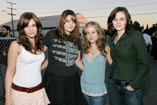 The Donnas - FRANK MICELOTTA/GETTY IMAGES