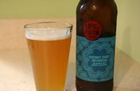 "The ""explosive"" flavor of New Belgium's coconut curry hefeweizen"