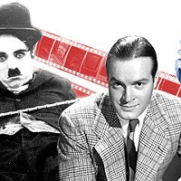 The funny similarities between Charlie Chaplin and Bob Hope