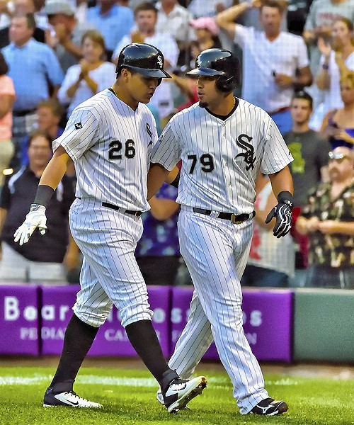 The future for the White Sox: Avisail Garcia and Jose Abreu, after Garcia homered in August against the Orioles.