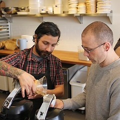 The gearheads behind Metric Coffee just want to make you a nice cup