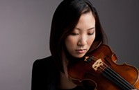 The girl who played the violin