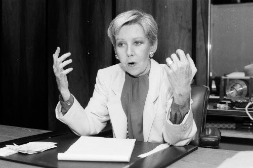 The greatest tribute we can pay to Mayor Jane Byrne (pictured above) is to elect a new mayor.