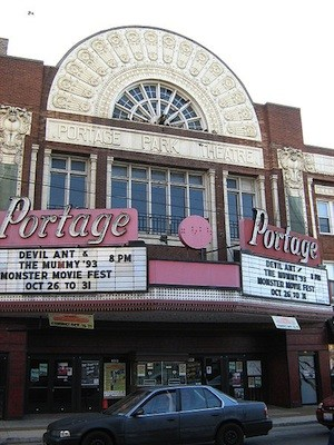 The historic Portage marquee