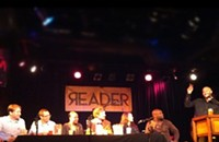The Honest Truthiness: clips from Monday night's boozy debate