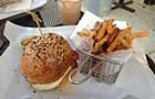 The House of the Rising Sun burger at Portage Park's Leadbelly