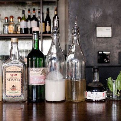 Cocktail Challenge: Erin Hayes of Perennial Virant makes the Five O'clock in Phuket
