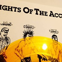 Rights of the Accused's debut EP was reissued—celebrate at Liar's Club tonight