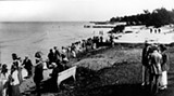 the lakefront in the 1920s