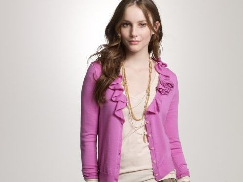 The merino rose corsage cardigan from J. Crew--on Mrs. Obamas wishlist this year?