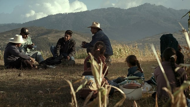 The Mexican art film Aqui y Allà (Here and There) opens this Friday.