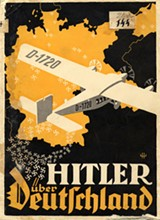 "The Nazi Party pamphlet ""Hitler Over Germany,"" made for Hitler's 1932 presidential campaign - © U.S. HOLOCAUST MEMORIAL MUSEUM/PHOTO BY HEINRICH HOFFMANN"