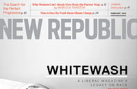 The <i>New Republic</i> calls out its own white privilege