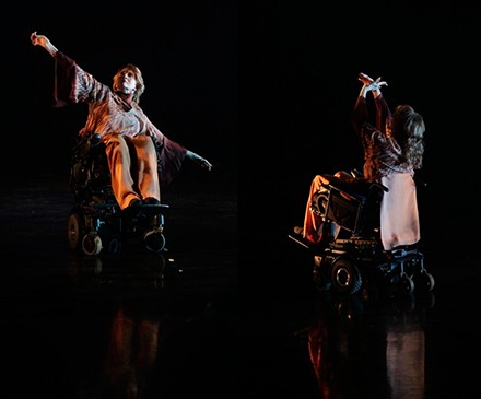 The Oak Park dance troupe Momenta, which includes both disabled and nondisabled dancers, will give a performance called Counter Balance.