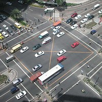 A middle finger salute to the worst intersections