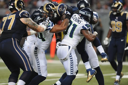 The Seattle Seahawks played some other guys last night.