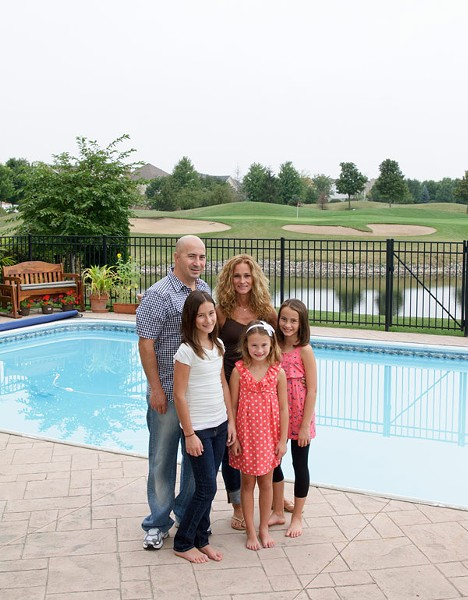 The Serras left their beloved home in North Park on Chicago's north side for the suburb of Vernon Hills, 30 miles away, to give their three daughters equal chances for success. - AMANDA AREIAS