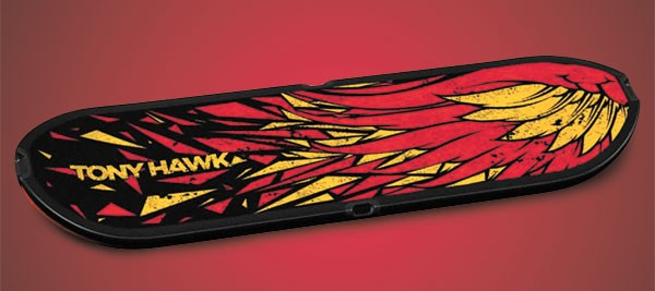 The skateboard controller for Tony Hawk: Shred