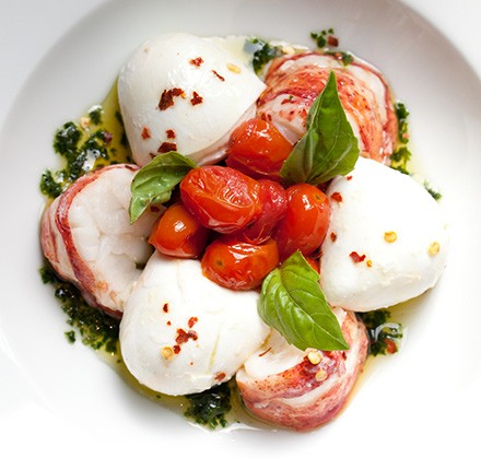 The small plates portion of RPM's menu—which includes the lobster caprese—is not unlike that of fellow Italian spot Bar Ombra. But the vibe at the two restaurants couldn't be more different.
