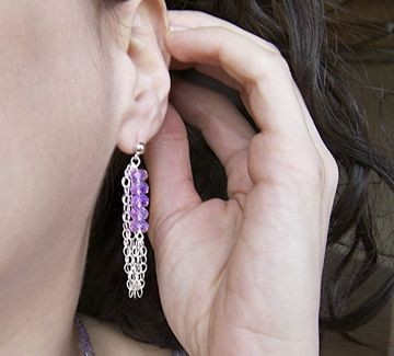 The Tenture earring from Objets dEnvy