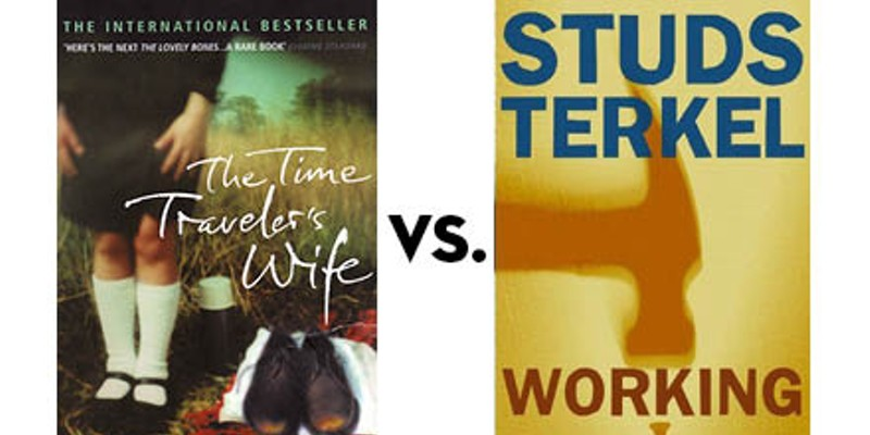 The Time Traveler's Wife vs. Working: Greatest Chicago Book Tournament, round two