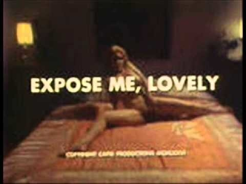 The title card of Expose Me, Lovely