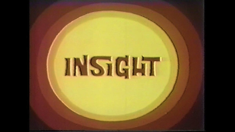 The title card of Insight in the early 1970s