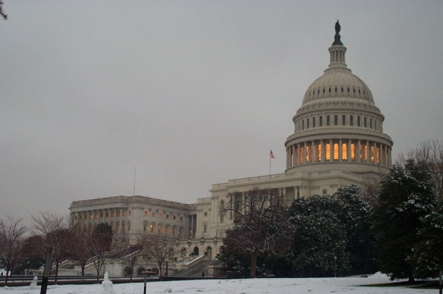 The United States Capitol, officially out of business
