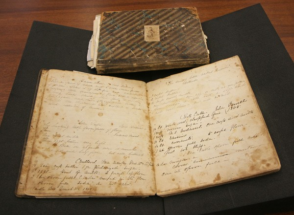 The University of Chicago has two recipe books dating from the second half of the 19th century.