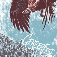 The vulture circles over Gerber Fest on the gig poster of the week