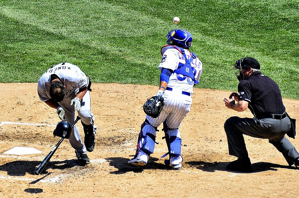 The White Sox and Cubs have taken their lumps so far this season, but especially the Cubs -- aside from this Jeff Samardzija beaning of Paul Konerko.