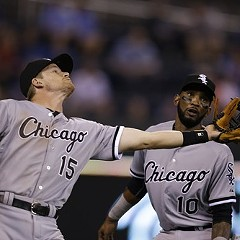 The White Sox were defeated by the Royals yesterday.