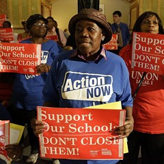 There will be fewer schools in Chicago next year, but they'll be just as segregated.