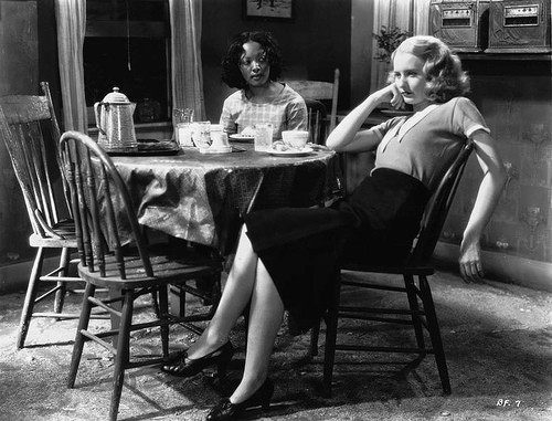 Theresa Harris and Barbara Stanwyck in Baby Face (1933)