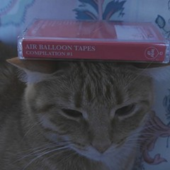 This cat approves of Air Balloon Tapes' first compilation