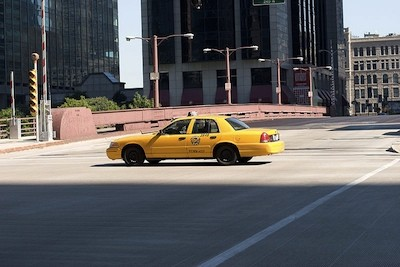 This is a Yellow Cab; my grandfathers car was marked Flash and, later, American United.