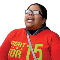 This week's Chicagoan: Nancy Salgado, fast-food worker