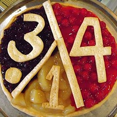"""Thus proving that """"pie"""" and """"pi"""" are interchangeable"""