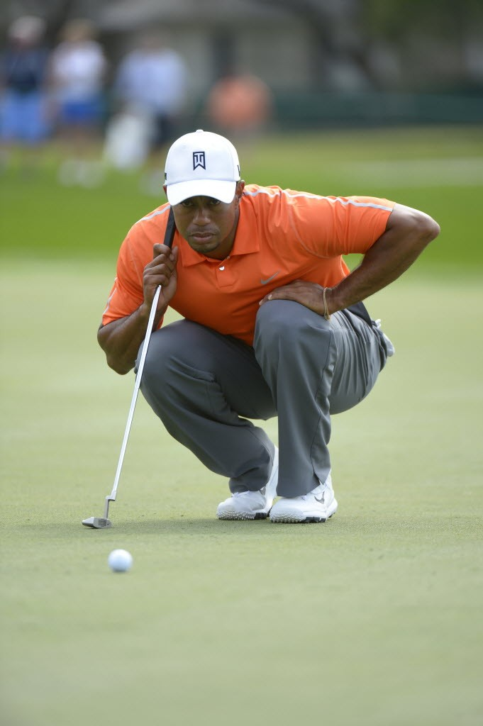 Tiger Woods will be looking for his fifth green jacket this week.