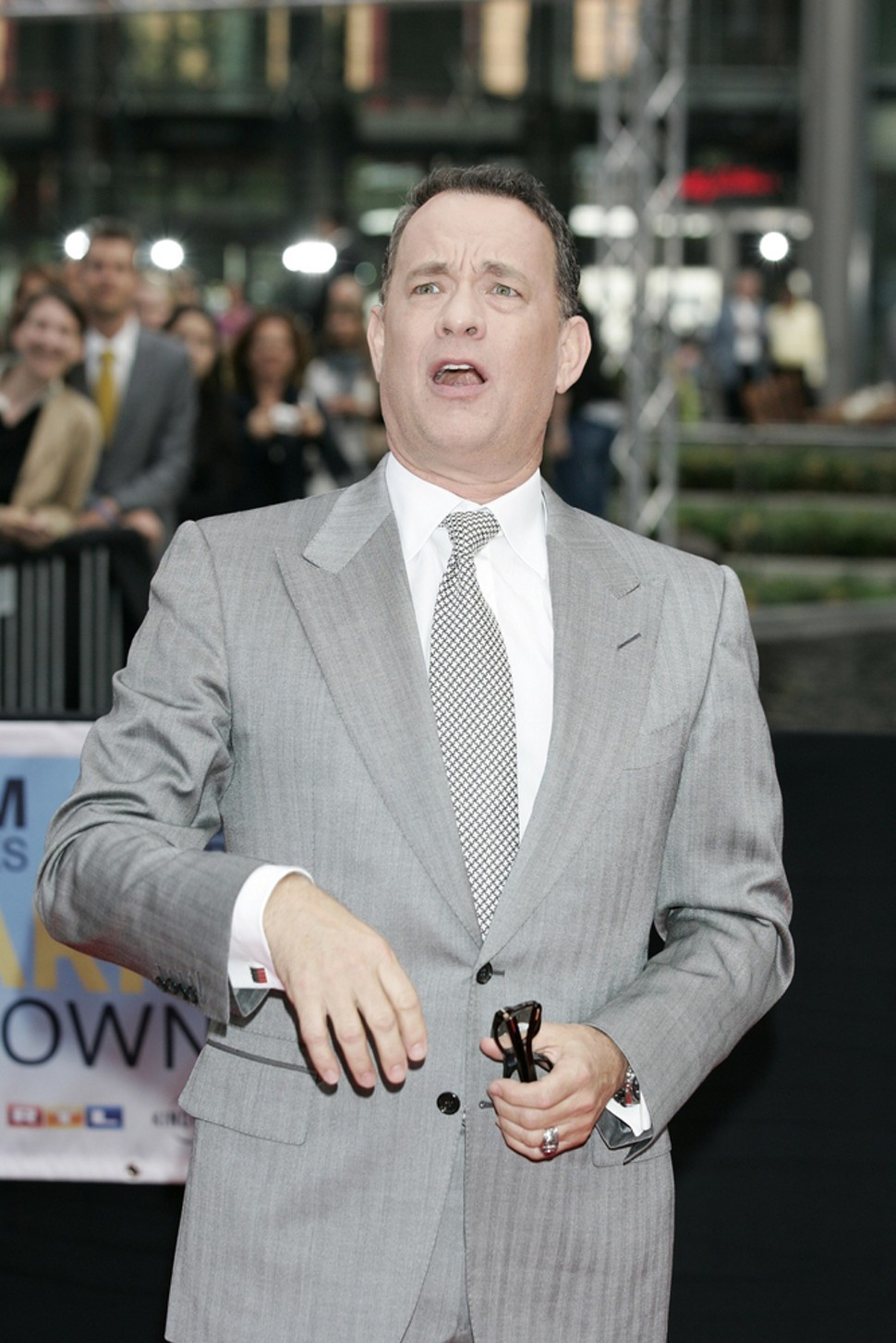 Tom Hanks cant believe it