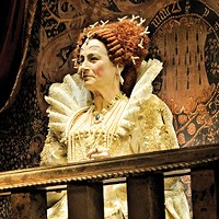 Trapped in the stables in a play about the Virgin Queen