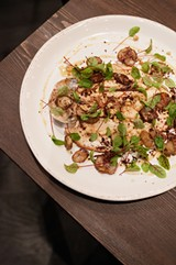 Trout with walnuts and sunchokes - ANDREA BAUER