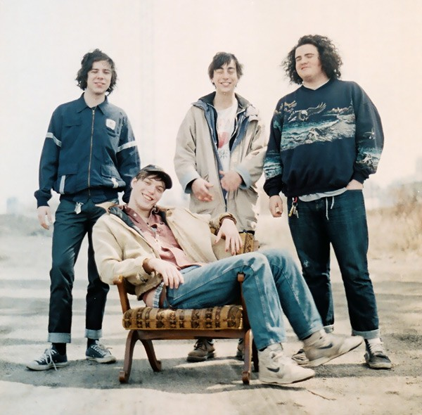 Twin Peaks, from left to right: Jack Dolan, Cadien Lake James, Clay Frankel, and Connor Brodner