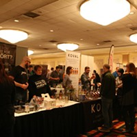 Mushroom vodka, pear brandy, and more from the Chicago Independent Spirits Expo